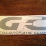 GF Club sticker